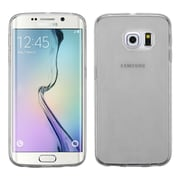 Insten Rubber Gel Case Skin For Samsung Galaxy S6 Edge, Smoke (2256827)