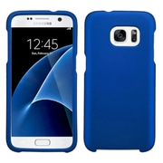 Insten Hard Rubber Cover Case For Samsung Galaxy S7 - Blue