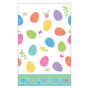 Amscan Lovely Easter Plastic Table Cover, Pack of 3 (571591)