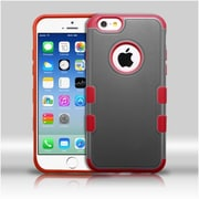 """Insten Black/Red TUFF Merge Hybrid Rugged Hard Shockproof Protector Case For iPhone 6S 6 4.7"""""""