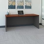 Bush Business Furniture Westfield 72W x 30D Office Desk, Hansen Cherry/Graphite Gray (WC24436)
