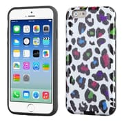 """Insten Leopard Hard Dual Layer Rubber Silicone Case For iPhone 6S 6 4.7"""" - Colorful"""