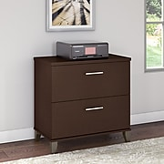 Bush Furniture Somerset Lateral File Cabinet, Mocha Cherry (WC81880)