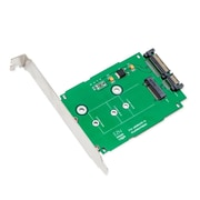 """IOCrest M.2 NGFF to 2.5"""" SATAIII Card with Full and Low Profile Brackets"""