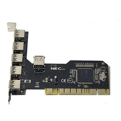 Syba 6-port USB 2.0 PCI, Revision 2.2; NEC Chipset