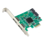 IOCrest PCI-E 2 Interface 4-Port SATA Controller Card w/88SE9235 Chipset