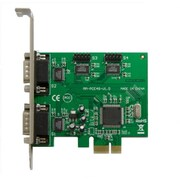 IOCrest PCIe 4x Port Serial DB9 Card Moschip 9901 Chipset