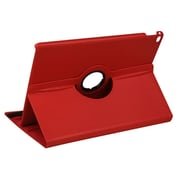 Insten Swivel 360 Degree Rotating Multi View Stand Flip Leather Case Cover Apple iPad Pro 12.9 Inch (2015) - Red