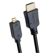 Connectland 1.8m 5.9ft HDMI Male to MIcro HDMI Male Cable V1.4 RoHS