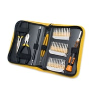 Syba 35 PIeces MultI-Purpose PrecIsIon ScrewdrIver Set wIth SlIm ZIpped Case