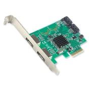 IOCrest PCI-E 2 Interface 4-Port SATA Controller Card w/88SE9230 Chipset