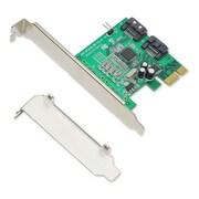 IOCrest PCIe 1 Interface 2-Port Internal SATA Controller Card 88SE9120 Chipset
