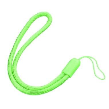 Insten Nylon Hand Wrist Lanyard Strap, Green, 5/Pack (2163106)