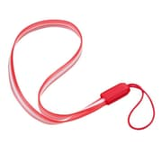 """Insten Red TPU Rubber Hand Wrist Lanyard Strap (7.5"""" inch, Pack of 5)"""