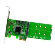 IOCrest M.2 + SATA to PCI-e x2 Hardware RAID Card (B or B+M Key)