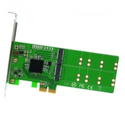 IOCrest PCI-Express 2.0 x1/x2/x4/x8/x16, 4-Port M.2 NGFF Card, with Key B or Key B+M based on SATA, Low Profile Bracket