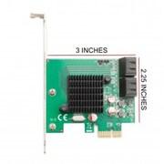Syba PCIe x1 Interface VersIon 2.0, HIgh Durable 4-Port Internal SATA 6G Controller Card