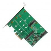 Syba PCI-Express 2.0 x4 2-Port M.2 NGFF plus 2-Port mSATA SSD RaId Card