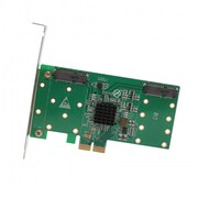 IOCrest PCI-Express 2.0, x4 / x8 / x16, 4x mSATA Card, Support RaId 0 / 1 / 10, Bootable, wIth LPB