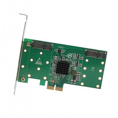 IOCrest PCI-Express 2.0, x4 / x8 / x16, 4x mSATA Card, Support RaId 0 / 1 / 10, Bootable, wIth LPB