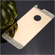 Insten Gold Acyrlic Hard Back Plate with Luxury Diamond for Apple iPhone 6 6s