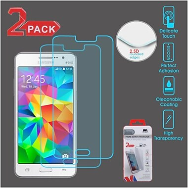 Insten 2-Pack Clear Tempered Glass Screen Protector For Samsung Galaxy Grand PrIme