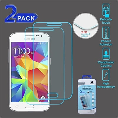 Insten 2-Pack Clear Tempered Glass Screen Protector For Samsung Galaxy Core PrIme/Core PrIme (Boost)