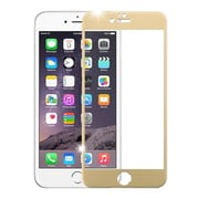 Insten 3D Curved TItanIum Alloy Full Coverage Tempered Glass Screen Protector For IPhone 6 Plus/6s Plus, Gold