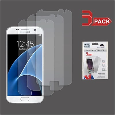 Insten 3-Pack Clear HD Screen Protector For Samsung Galaxy S7
