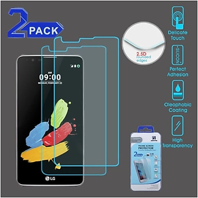 Insten 2-Pack 9H hardness Clear Tempered Glass Screen Protector For LG G Stylo 2 / Stylus 2