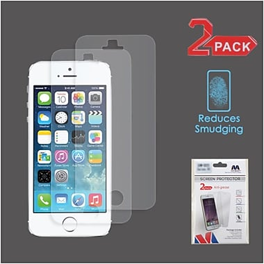 Insten Matte Anti-Glare Screen Protector Guard For iPhone 5/5C/5S/SE, 2/Pack (2229275)
