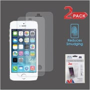 Insten 2-Pack Matte Anti-Glare Screen Protector Guard For iPhone 5/5C/5S/SE