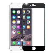 Insten 3D Curved TItanIum Alloy Full Coverage Tempered Glass Screen Protector For IPhone 6 Plus/6s Plus, Black
