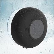 Insten Black Bluetooth 3.0 Wireless Waterproof Speaker w/ Handsfree Call Mic for Shower Car iPhone Smartphone Tablet MP3