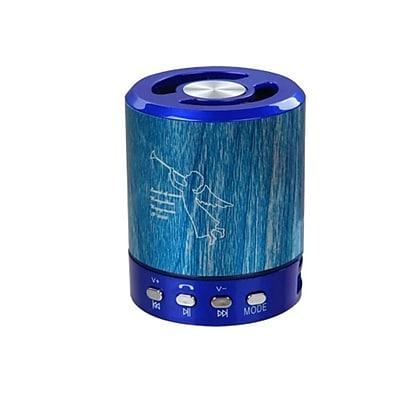 Insten Blue Portable Mini Speaker for Desktop Laptop PC Computer Cell Phone Smartphone MP3 MP4 Music Player
