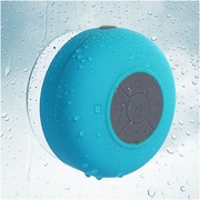 Insten Blue Bluetooth 3.0 Wireless Waterproof Speaker w/ Handsfree Call Mic for Shower Car iPhone Smartphone Tablet MP3