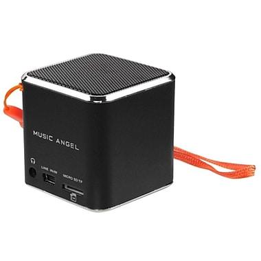 Insten Black Mobile Loudspeaker Speaker For MP3 MP4 iPod PC Mobile Phone Laptop