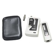 Syba LAN Cat5e Cat6 Cable Tester for UTP STP Coaxial and Modular Cables