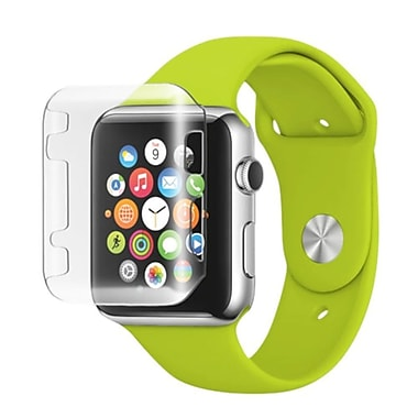 Insten Gel Bumper For Apple Watch iWatch 38mm, Clear (2118810)