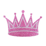 "Insten Crown Diamante Bling Crystal Decoration Sticker 6.5"" x 4.5"""