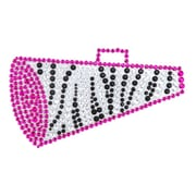 "Insten Megaphone Diamante Bling Crystal Decoration Sticker 4.75"" x 3"""