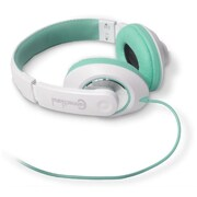 Connectland Fashionable Stylish Stereo Over-Ear Headset Headphone White/Blue