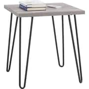 Ameriwood Home Owen Retro End Table, Distressed Gray Oak (5068196PCOM)