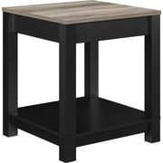 Ameriwood Home Carver End Table, Black (5046196PCOM)