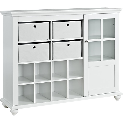 Ameriwood Home Reese Park Storage Cabinet, White (7658096)
