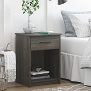Ameriwood Home Core Nightstand, Weathered Oak (5497213COM)