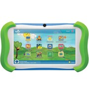 "Ematic Sprout Channel Cubby™ 7"" Kids Tablet, 1GB RAM, Android 4.4 KitKat, Green/White/Blue"