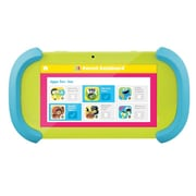 "Ematic PBS Playtime Pad PBSKD12 7"" Kids Tablet, 1GB RAM, Android 6.0 Marshmallow, Blue/Green"