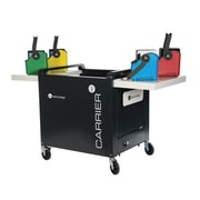 lockncharge Carrier 40 Cart™ L843224 Charging Cart with Large Basket