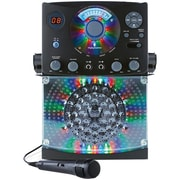 Bluetooth® CD+G Karaoke System (Black)